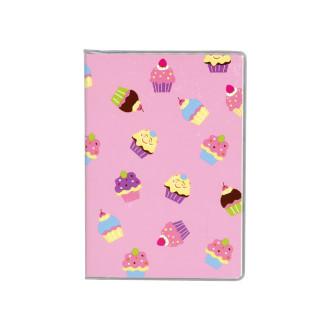 ドット手帳 ケーキ ピンク B3482