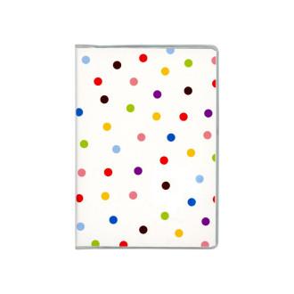 ドット手帳 水玉 ホワイト B3483