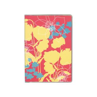 ドット手帳 ブック リゾートフラワー ピンク B3505
