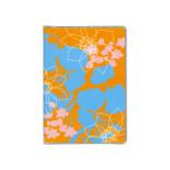 ドット手帳 ブック リゾートフラワー オレンジ B3506