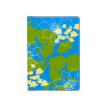 ドット手帳 ブック リゾートフラワー ブルー B3507