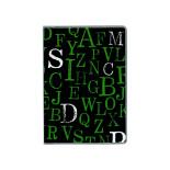 ドット手帳 タイポグラフィ ブラック B3512