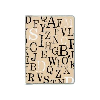 ドット手帳 タイポグラフィベージュ B3513