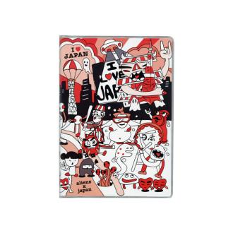 ドット手帳 エイリアンと日本 B3529