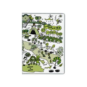 ドット手帳 エイリアンと地球 B3530