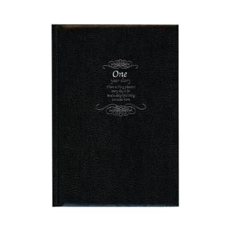 One Year Diary B6 ブラック R2133