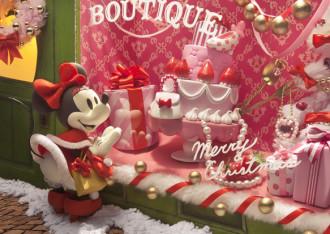 sisa 3Dポストカード クリスマス・ウインドウショッピング S3632