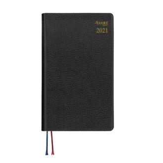 2016年9月始まり Appoint 1週間+横罫 手帳サイズ ブラック E1751