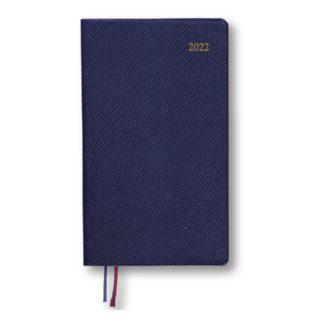 2018年9月始まり Appoint 1週間バーチカル 手帳サイズ ネイビー E1756