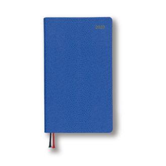 2021年1月始まり アポイント Appoint E1373 1週間+横罫 手帳サイズ ブルー