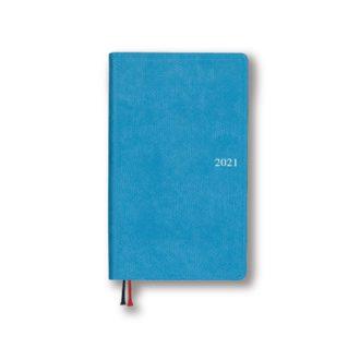 2021年1月始まり アポイント Appoint E1641 1週間+横罫 手帳サイズ ブルー