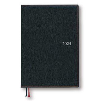 2021年1月始まり アポイント Appoint E1651 1週間+横罫 A5 ブラック
