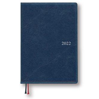 2021年1月始まり アポイント Appoint E1666 1週間バーチカル B6 ネイビー