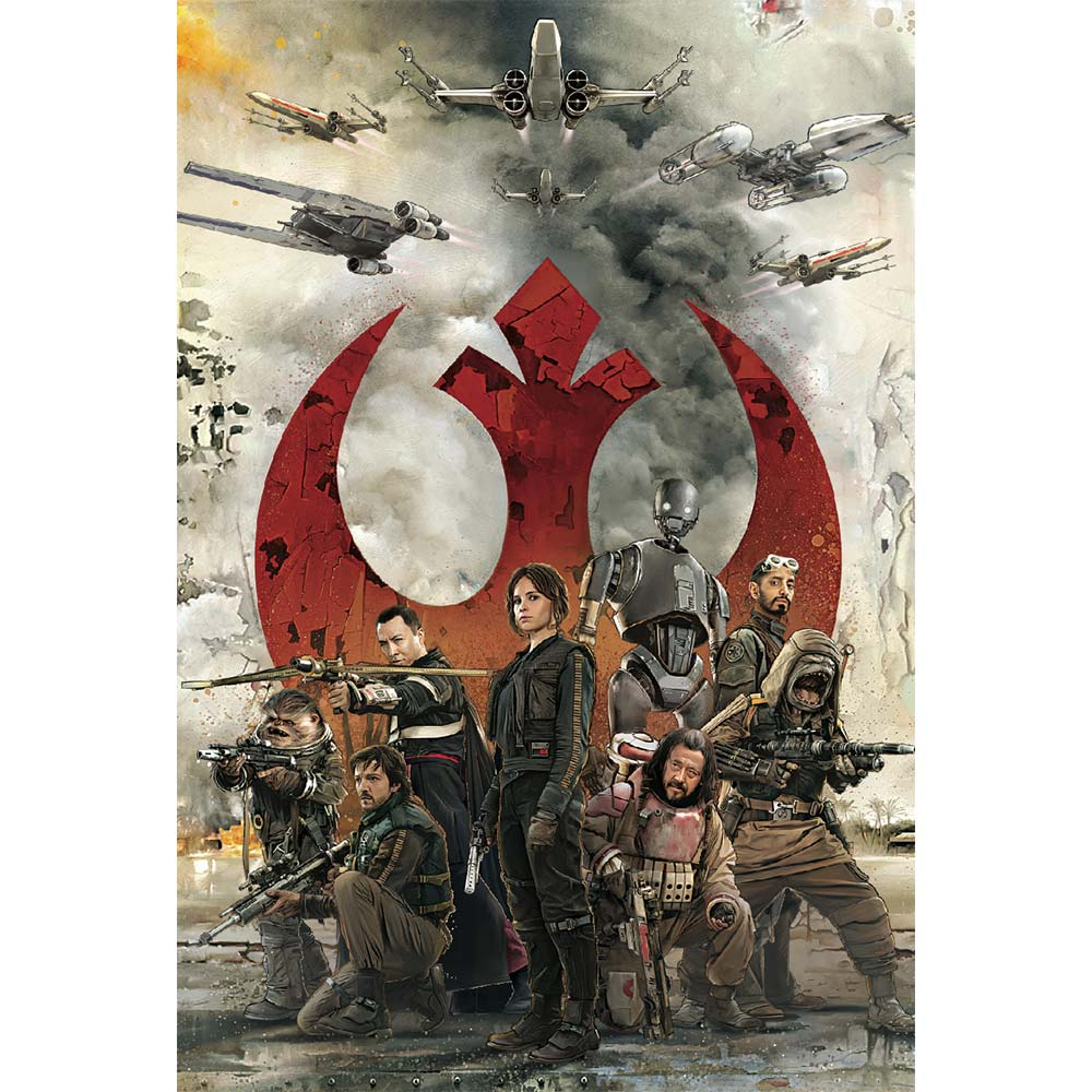 3dポストカード Star Wars スター ウォーズ ローグワン Rebel