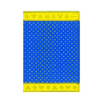 2016 ディズニーダイアリー カラーブロッキング 1週間+横罫B6 BL E6080