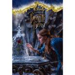 3Dポストカード 美女と野獣 Bell & Rosedome