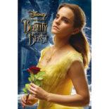 3Dポストカード 美女と野獣 Beauty Bell S3742