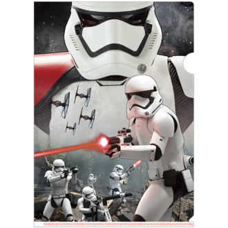 3Dクリアファイル STAR WARS スター・ウォーズ/フォースの覚醒 ファースト・オーダー ストームトルーパー Shooting Weapons