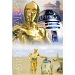 3Dポストカード STAR WARS スター・ウォーズ オリジナル・トリロジー C-3PO&R2-D2