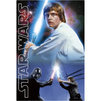 3Dポストカード STAR WARS スター・ウォーズ オリジナル・トリロジー Luke-Jedi