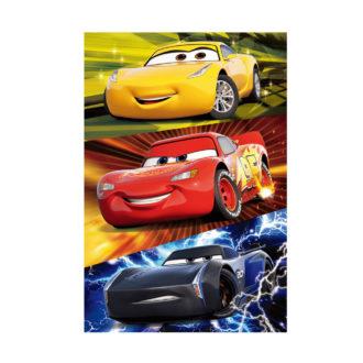 3Dポストカード カーズ3/クロスロード 002 McQueen Storm Ramirez
