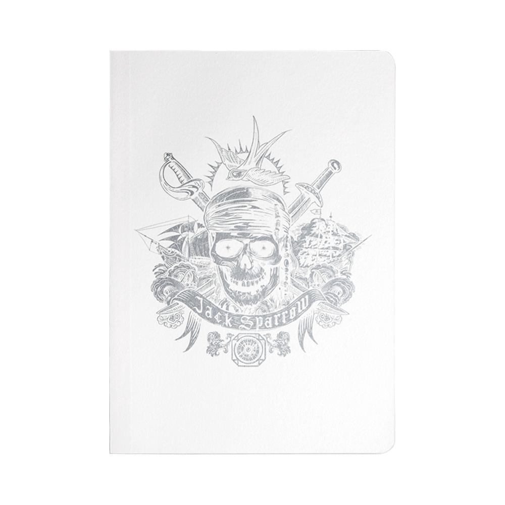 パイレーツ・オブ・カリビアン5/最後の海賊 B6ノート Silver Skull R1436