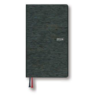 2021年1月始まり アポイント Appoint E1384  1週間ファミリーレイアウト 日曜始まり 手帳サイズ ブラック