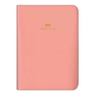 2020年1月始まり ミル MILL E7535 1週間+横罫 SNUG A6 ピンク