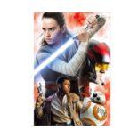 3Dポストカード スター・ウォーズ エピソード8/最後のジェダイ 023 Rey&The Resistance