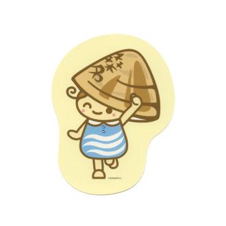 ご当地キャラクターポストカード 桑名 ゆめはまちゃん