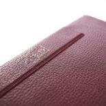 2018年4月始まり 土橋正氏監修 フレームマンスリー手帳 E9192 1ヶ月ブロック 日曜始まり 薄型 手帳サイズ レッド