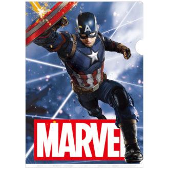 MARVEL 3Dクリアファイル-004 キャプテンアメリカ Captain America