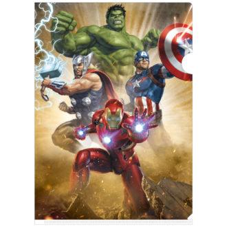 MARVEL 3Dクリアファイル-001 アベンジャーズ Avengers