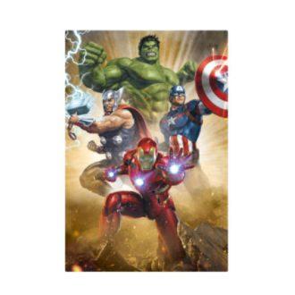 MARVEL 3Dポストカード-001 アベンジャーズ Avengers