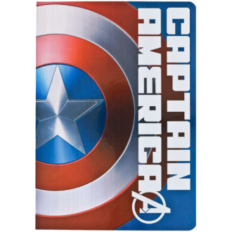キャプテンアメリカ Captain America B6ノート MARVEL