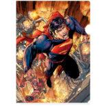 DCコミックス 3Dクリアファイル スーパーマン SUPERMAN ART