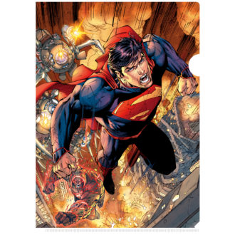 3Dクリアファイル スーパーマン SUPERMAN ART