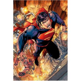 DCコミックス 3Dポストカード スーパーマン SUPERMAN ART