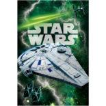 3Dポストカード ハン・ソロ/スター・ウォーズ・ストーリー  ミレニアムファルコン