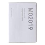 2019年1月始まり コネクトグラフィック CONNECT GRAPHIC V2551 1ヶ月ブロック INK B6 薄型 ホワイト