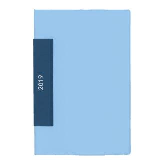 2019年1月始まり 土橋正氏監修 フレームマンスリー手帳 ブルー