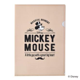 ミッキーマウス生誕90周年商品 A4 クリアファイル ミッキー1 N1611