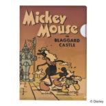 ミッキーマウス生誕90周年商品 A5 クリアファイル ミッキー2 N1616