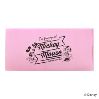 ミッキーマウス生誕90周年商品 チケットサイズファイル ミッキー&ミニー N1620