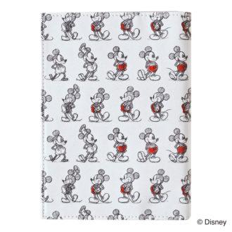 ミッキーマウス生誕90周年商品 ブックカバー ミッキー_AN N1621