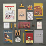 ミッキーマウス生誕90周年商品 ブックカバー ミッキー2 N1623