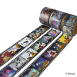 ミッキーマウス生誕90周年商品 フィルム マスキングテープ 30mm ミッキーAN_2 N1625