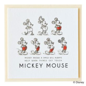 ミッキーマウス生誕90周年商品 メッセージカード ミッキー_AN_1 S4470