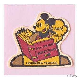 ミッキーマウス生誕90周年商品 メッセージカード ミッキー1 S4475