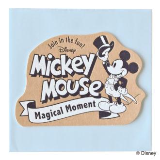 ミッキーマウス生誕90周年商品 メッセージカード ミッキー3 S4478